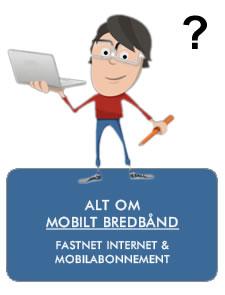 Mobilt bredbånd hvordan guiden